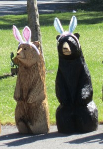 Two Easter Bears
